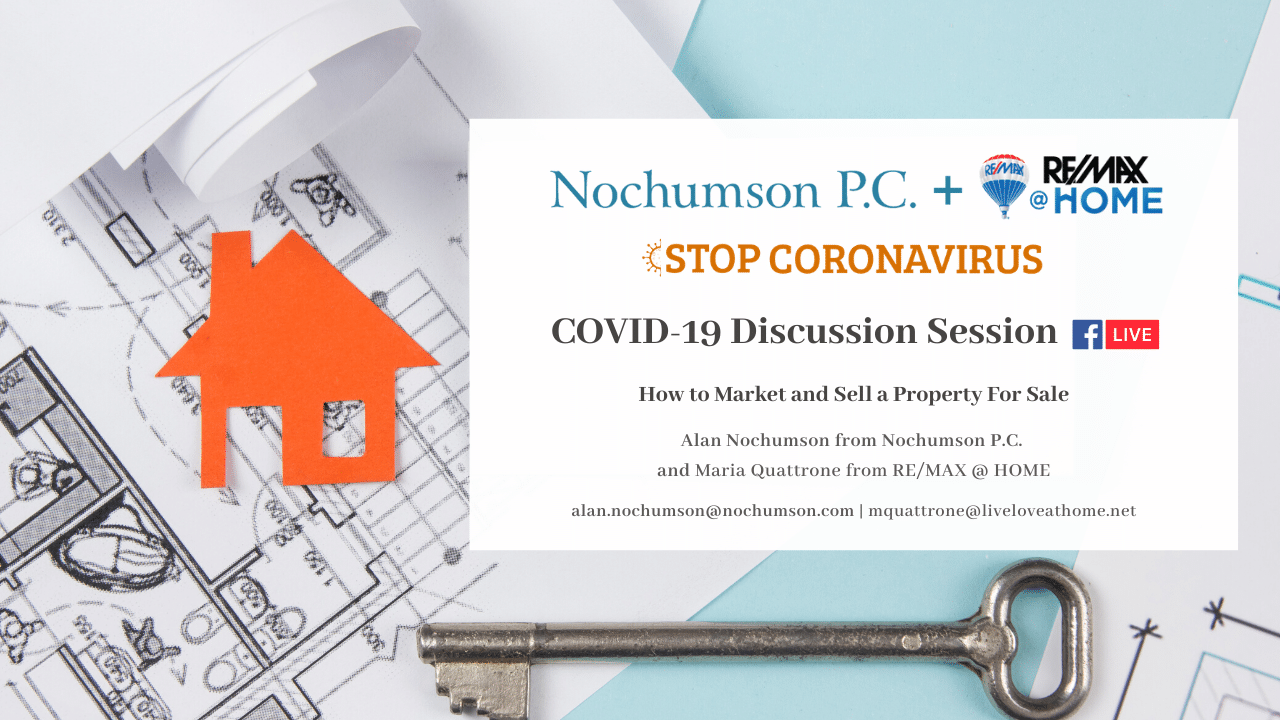 How to Market and Sell a Property During the COVID-19