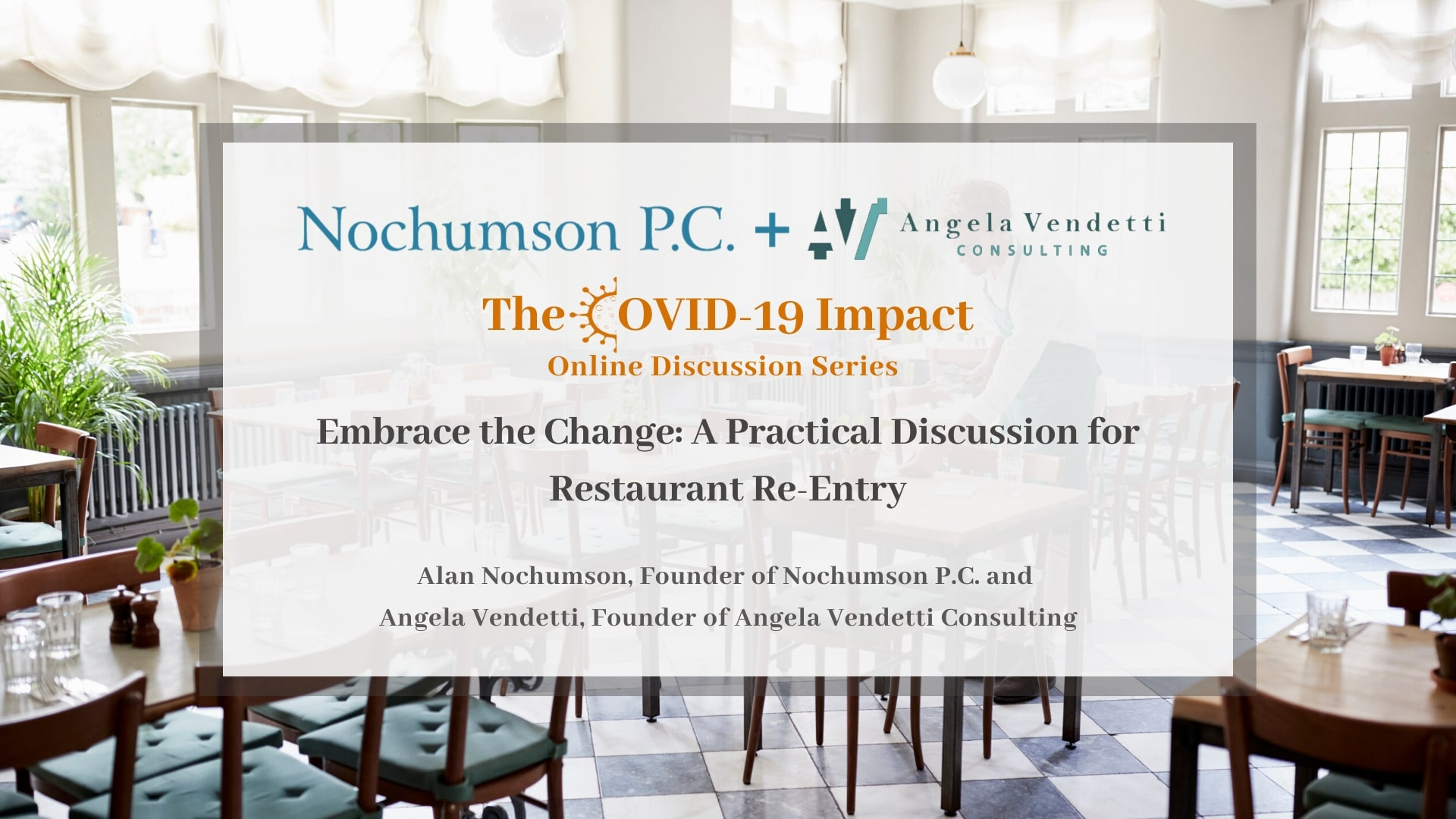 Embrace the Change: A Practical Discussion for Restaurant Re-Entry
