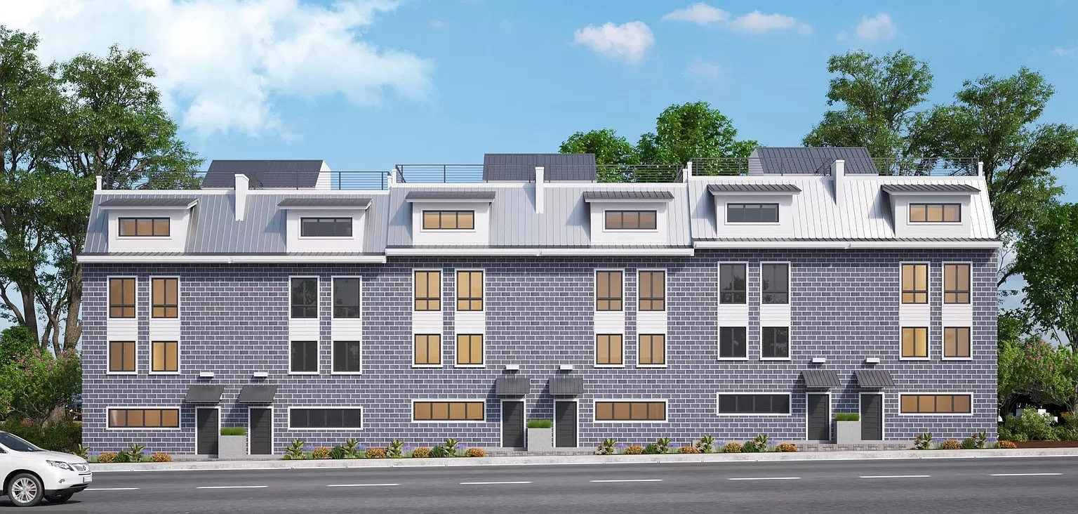 Parcel of Land Converted into a 20-Unit Planned Community in Brewerytown
